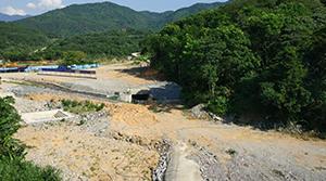 紅嶺灌區工程總干Ⅰ標1# 隧洞進口
